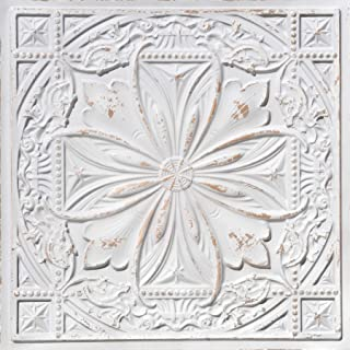 From Plain To Beautiful In Hours DCT10at-24x24 Ceiling Tile, Antique Taupe