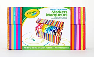 Crayola Pip Squeaks Kids' Marker Collection, Washable Mini Markers, 64Count, Gift for Kids (Amazon Exclusive)