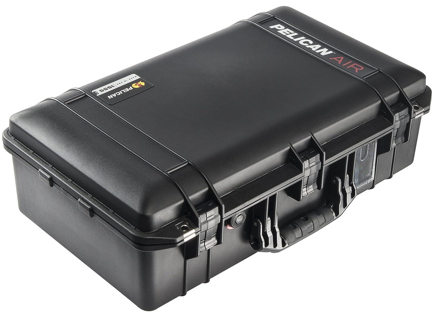 用心送金包囲PELICAN(ペリカン) 1555 エアケース ブラック 0155500000110 プロテクターツールケース(大型)