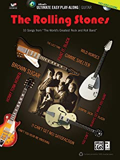 """Ultimate Easy Guitar Play-Along -- The Rolling Stones: 10 Songs from """"""""The World's Greatest Rock and Roll Band"""""""" (Easy Gui..."""