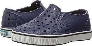 Native Kids Unisex-Baby Miles Child Sneaker, Regatta Blue/Shell White, 4 Medium US Toddler