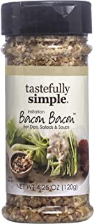 Tastefully Simple Bacon Bacon Seasoning, Tastes Like Real Bacon, Vegan, No MSG - 4.25 oz