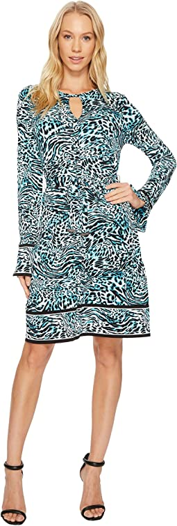 MICHAEL Michael Kors - Big Cat Border Dress