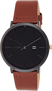 Tommy Hilfigeradultwatch 1791461, Brown Band, Analog Display, For Unisex