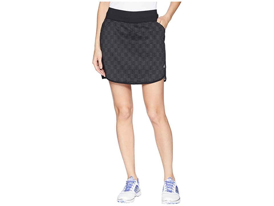 adidas Golf Rangewear Skort (Black) Women