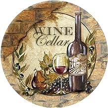Thirstystone Stoneware Coaster Set, Wine Cellar II