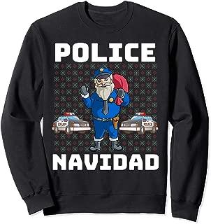 Police Navidad Sweatshirt Santa Police Christmas Gift Shirt