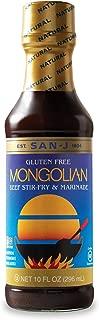 San-J Sauce, Mongolian Gluten Free, 10 Ounce (Pack of 6)