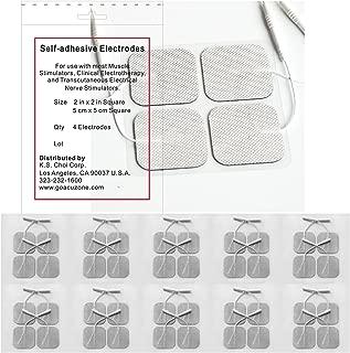 Angel Premium TENS/EMS Unit 40 Electrode Pads 2