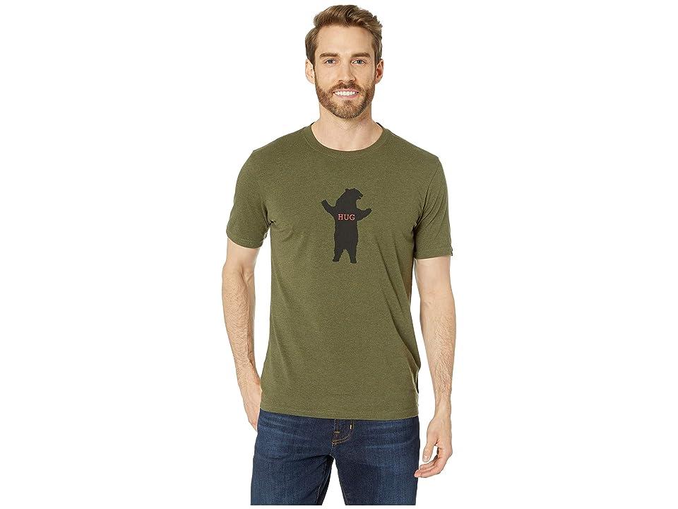 Prana Bear Hug Journeyman T-Shirt (Cargo Green Heather) Men