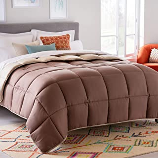 Linenspa All-Season Reversible Down Alternative Quilted Comforter - Hypoallergenic - Plush Microfiber Fill - Machine Washa...