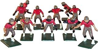 Electric Football 11 Regular Size Men in Tan Red Black Home Uniform