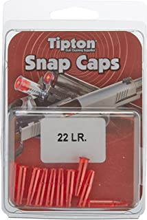 Tipton Rifle Snap Caps with False Primer, Reusable Construction, in Various Calibers for..