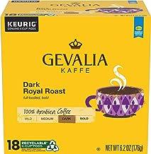 Sponsored Ad - Gevalia Dark Royal Roast K-Cup Coffee Pods (72 Pods, 4 Packs of 18)