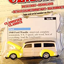 Racing Champions Classified Classics - 1940 Ford Woodie Street Rod - Limited Edition 1/20,000 - Issue #12