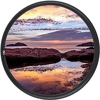 JJC UV Filter für Canon EOS Rebel T7 T6 T8i T7i SL3 90D 80D 4000D 2000D mit EF S 18 55 mm Objektiv, für Fuji Fujifilm X S10 X T3 X T2 XT30 XT20 X E3 mit XF 18 55 mm Objektiv. Mehr