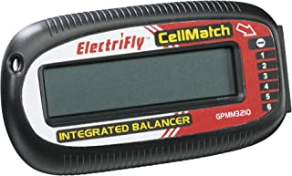 Great Planes Electrifly CellMatch LiPo 2-6S Balancer Meter with LCD