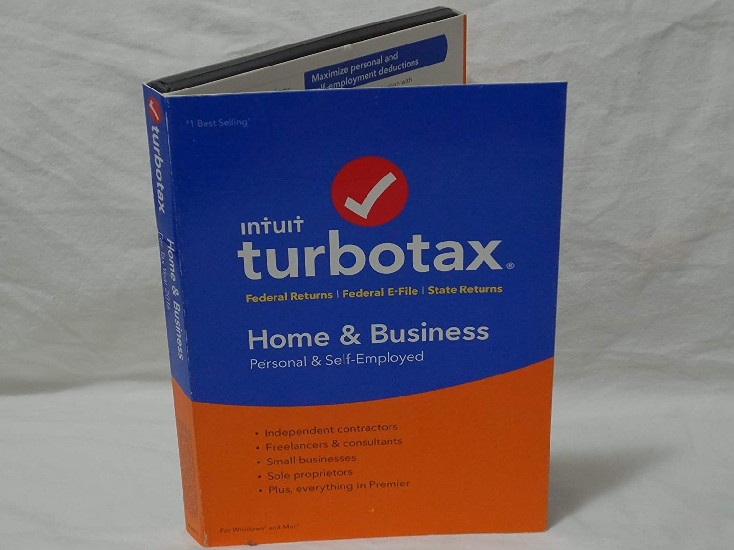 TurboTax 5 popular Home Business 2016 . BRAND Tax SEALED. Year Turbo NEW Free Shipping New