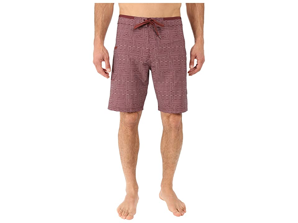Prana Catalyst Short (Raisin) Men