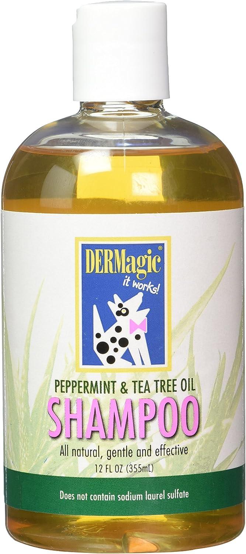 DERMagic Peppermint Tea Tree Oil Shampoo (12 oz)