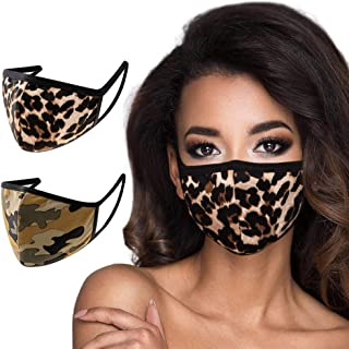 2 Pack Made in USA Unisex 3D Face Mask – Protective, Comfortable and Breathable Mouth and Nose Cover