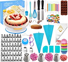 Cake Decorating Tools Kit Tools 290Pc,Baking Utensils Set and Bakery Supplies,Baking Accessories,Baking Set for Adults Cak...