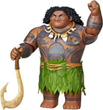DISNEY Moana Swing 'n Sounds Maui Doll - 10 Phrases - Articulated Kids Toys - Ages 3+