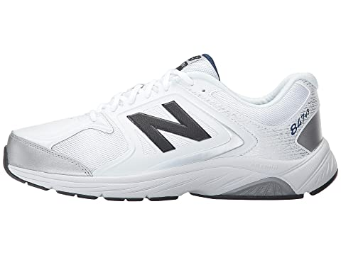 Cheap Finishline Sale Online New Balance MW847v3 White/Grey How Much With Credit Card Sale Online 7vSvChx