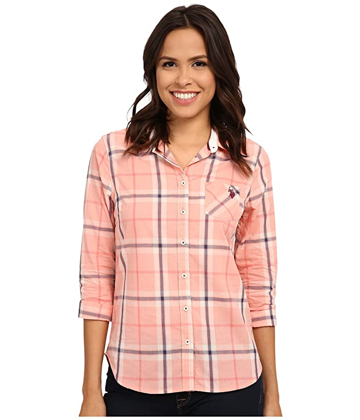 U.S. POLO ASSN. Plaid Poplin Shirt