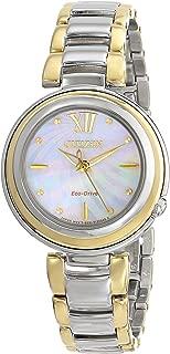 Citizen Women's Eco-Drive Two-Tone Diamond Sunrise Watch