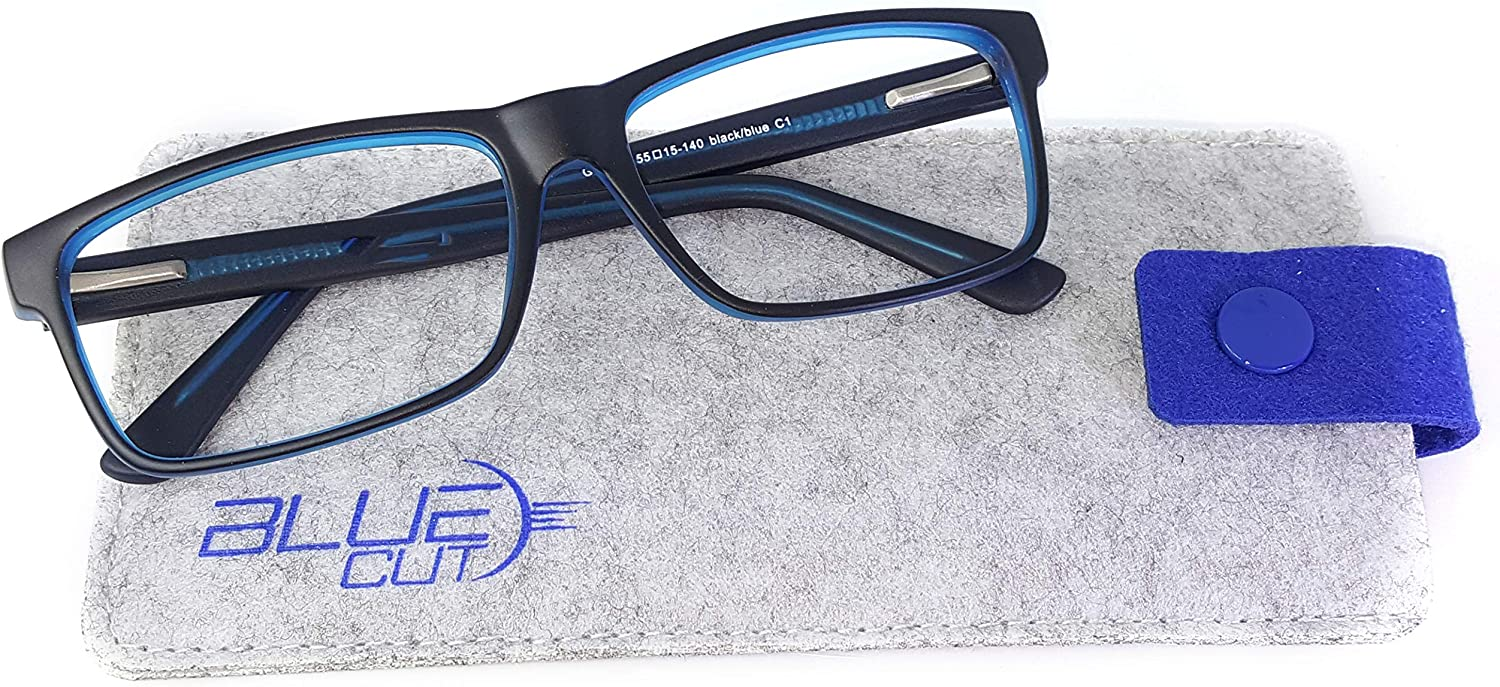 bluee Light Blocking Glasses  AntiFatigue Computer Glasses Prevent Headaches Gamer Glasses