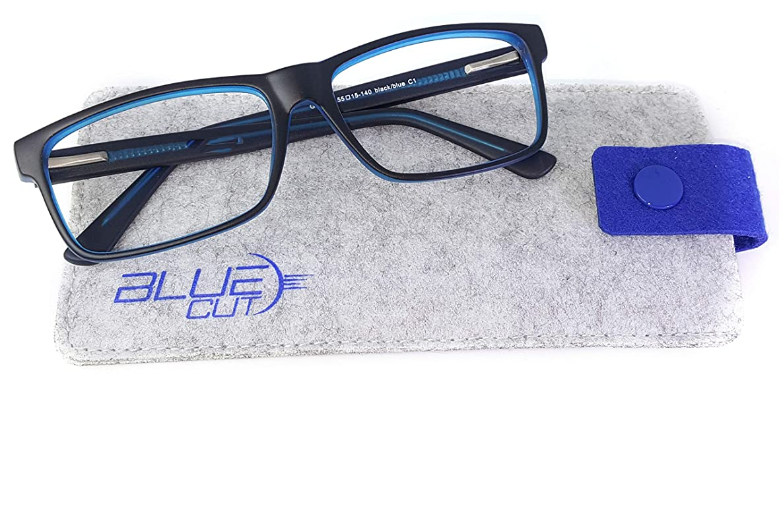 Blue Light Blocking Glasses – Anti-Fatigue Computer Glasses Prevent Headaches Gamer Glasses