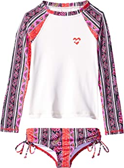 4008ee3780cd7e Stay 4 Ever Rashguard Set (Little Kids Big Kids)