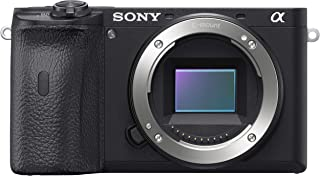 Sony Alpha ILCE-6600 24.2 MP Mirrorless Digital SLR Camera Body only (APS-C Sensor, Fastest Auto Focus, Real-time Eye AF, Real-time Tracking, 4K Vlogging Camera, Tiltable LCD)