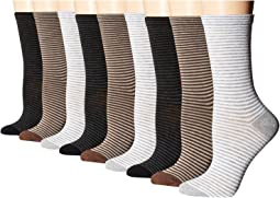 Stripe Crew Socks - 3 pack