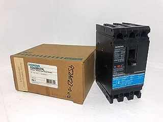Siemens I-T-E ED43B070 70 Amp Circuit Breaker 480V Ground GF01ED60 ED4 ITE 70A