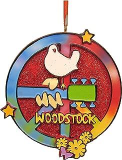 Kurt Adler Woodstock Peace Sign Ornament