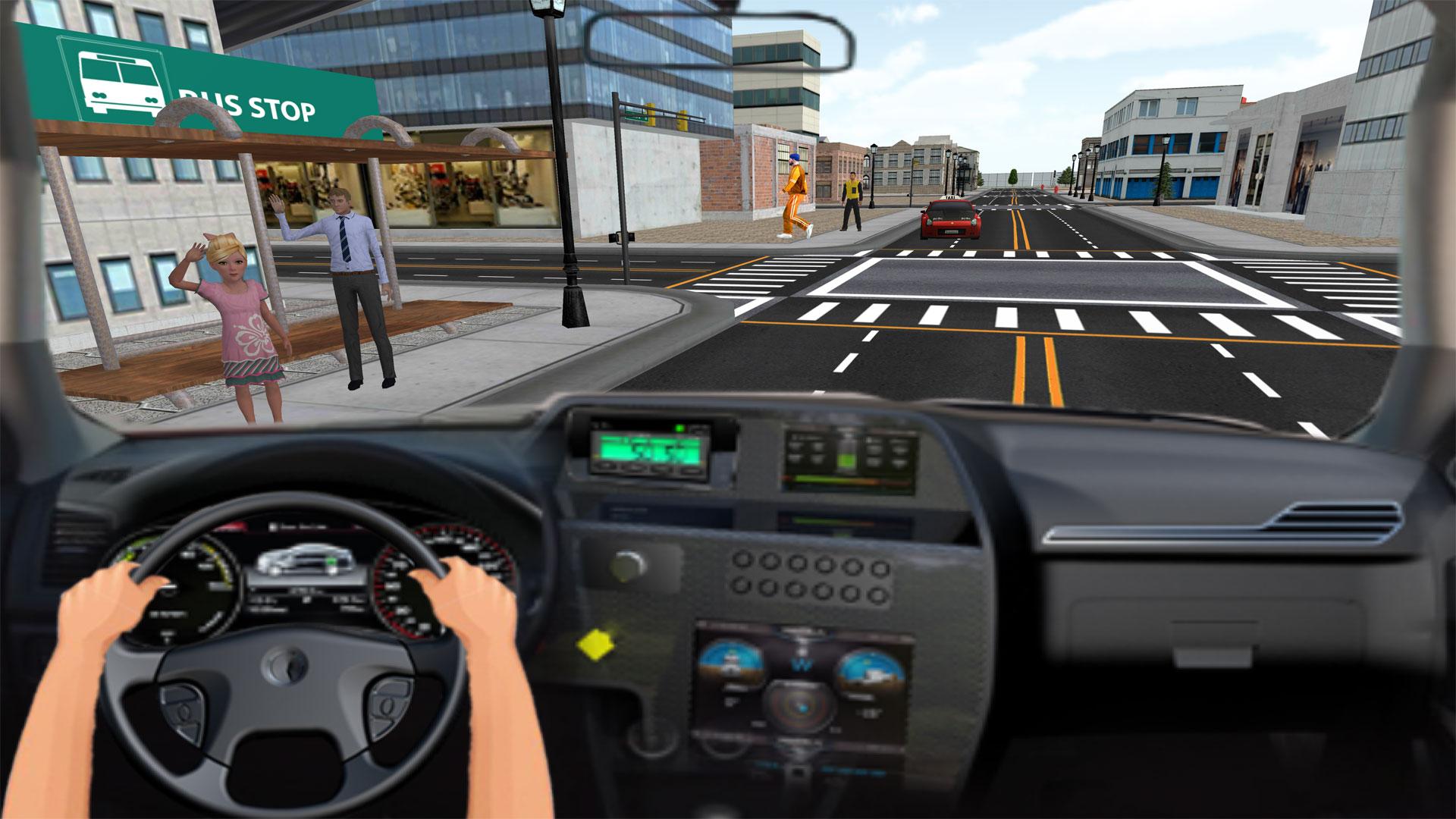 Smart Taxi Driving Simulator