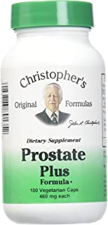 Christopher's Original Formulas Prostate Plus Formula, 100 Count