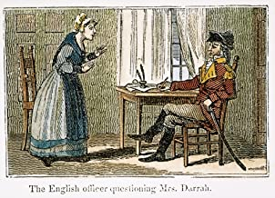 Lydia Darragh (1729-1789) Nirish-American Spy An English Officer In Occupied Philadelphia Questioning Mrs Lydia Darragh December 1777 Wood Engraving 1845 Poster Print by (18 x 24)