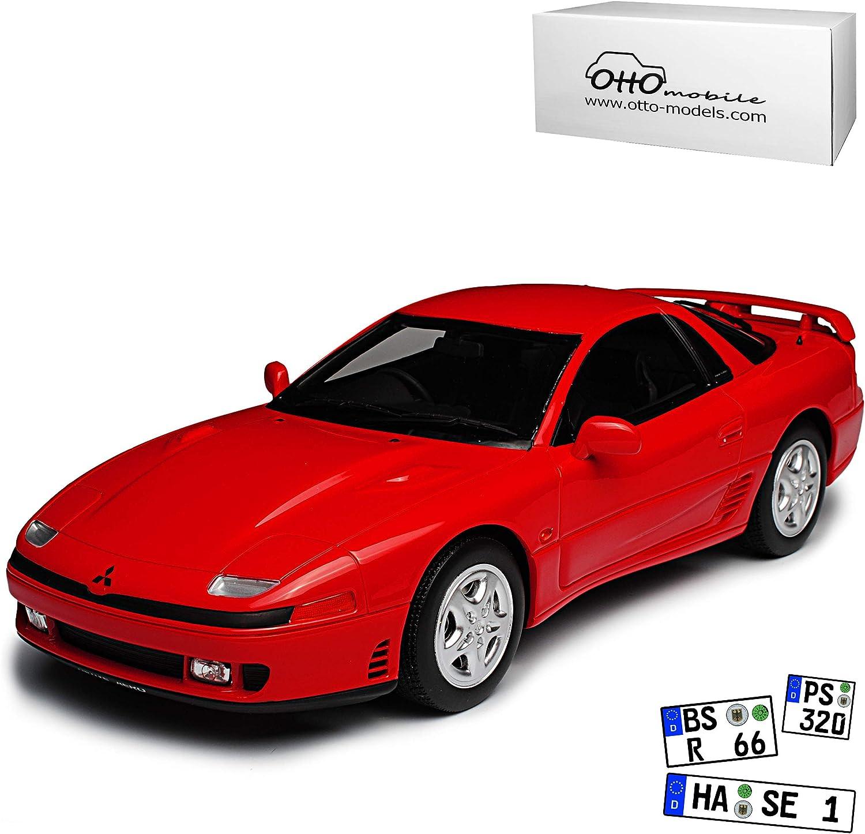 Mitsubishi GTO 3000 GT Twin Turbo Coupe Rot 1990-2000 Nr 233 1 18 Otto Modell Auto