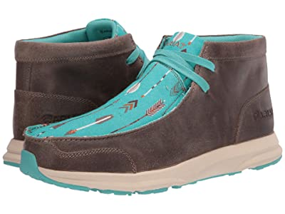Ariat Spitfire (Granite Suede/Turquoise Arrows) Women