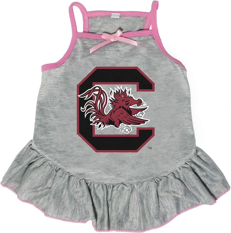 Littlearth 2021 model NCAA South Carolina Fighting Sma Gamecocks Choice Pet Dress
