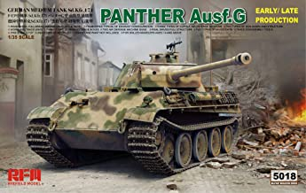 RFMRM5018 1:35 Rye Field Model Panther Ausf.G Sd.Kfz.171 (Early/Late Production) [Model Building KIT]
