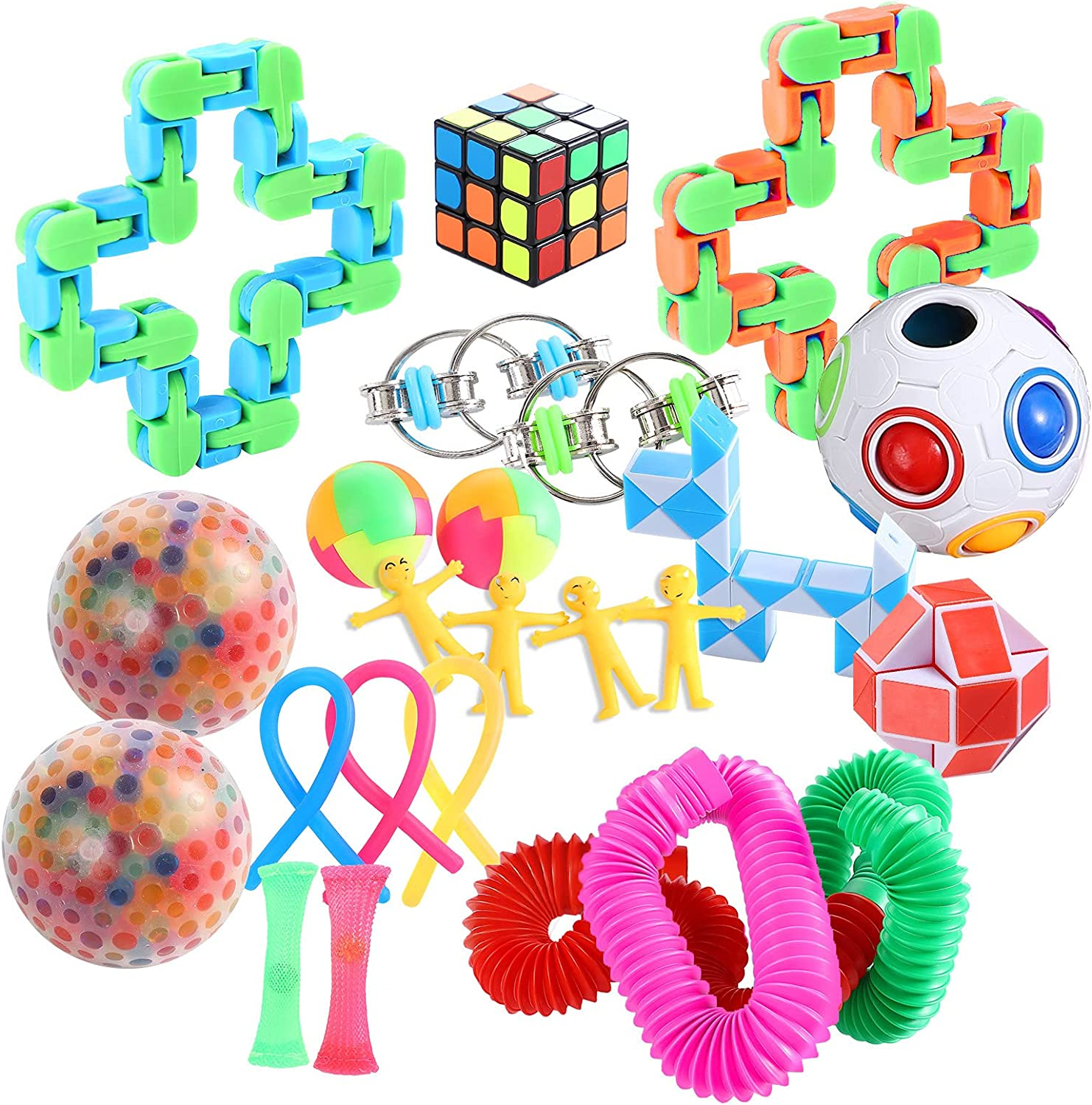 24-Pack Sensory store Fidget High material Toys Set for and Kids Adults Stress Anxie