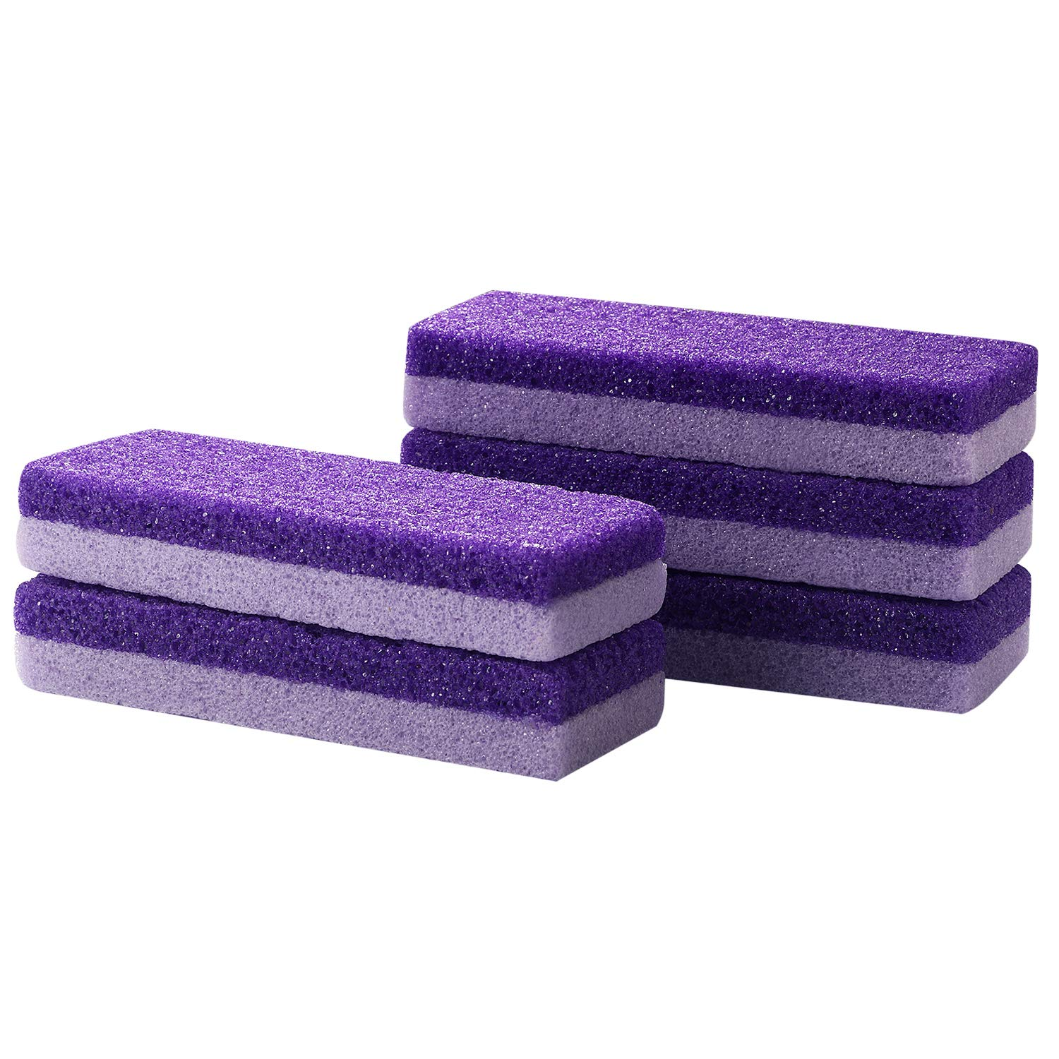 Vtrem 5 PCs Pumice Stone for Feet Double 2 Max 70% OFF Pedicure To IN1 Popular products Sided
