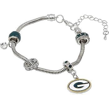 NCAA Siskiyou Sports Womens Wyoming Cowboys Euro Bead Bracelet One Size Team Color
