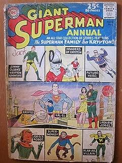 Giant Superman Annual #5, 1962. The Superman Family on Krypton