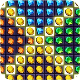 Match 3 jewel and gems