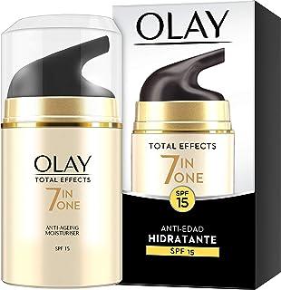 Olay Total Effects 7en1 Hidratante Anti-Edad De Día SPF15 50ml Combate Los 7 Signos De La Edad